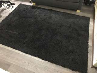 Ikea Carpet / Rug (Black)