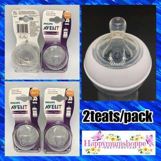 ❌SOLD OUT❌ Avent Natural teats 6m+