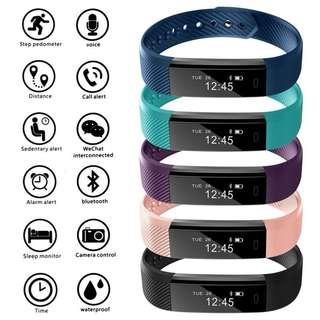 iPhone智能手錶健身活動追踪器iPhone三星步驟計數器    Bluetooth Smart Watch Fitness Activity Tracker Step Counter For iPhone Samsung