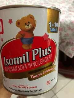 isomil plus 1-10 thn