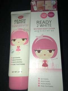 READY 2 WHITE whitener body lotion
