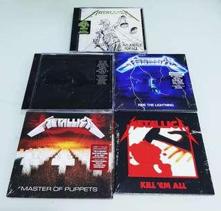 METALLICA CDS BRAND NEW SEALED