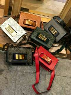 Dio(R)evolution Flap Bag With Slot HandClasp