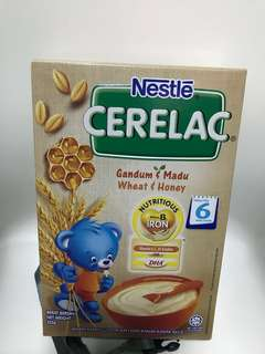 Cerelac - Wheat and Honey (brand new in box)