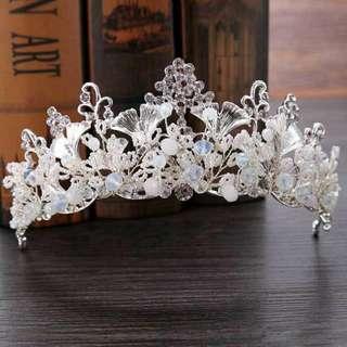 Headpiece Hairpiece Sirkam Hiasan Aksesoris Rambut Pengantin Mahkota Crown Hairpin Konde
