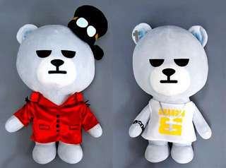 Authentic Taeyang Fantastic Baby 35cm Bear