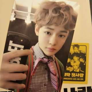 【WTS】NCT Dream The First Chenle PC