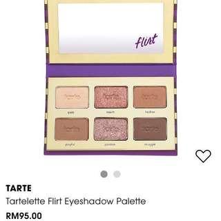 🆕Tartelette Flirt Eyeshadow Palette