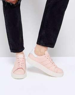 BNIB authentic pink stan smith bold