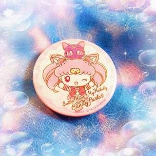 sailormoon x melody cafe chibimoon pin 美少女戰士cafe 胸章