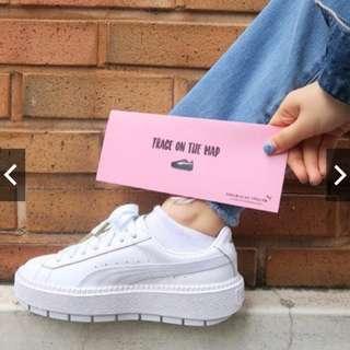 PUMA厚底鞋 泫雅代言