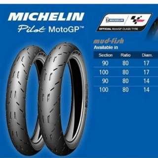 Michelin's Pilot  MotoGp Tyres