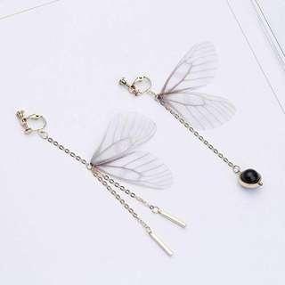 anting wanita korea kupu kupu butterfly