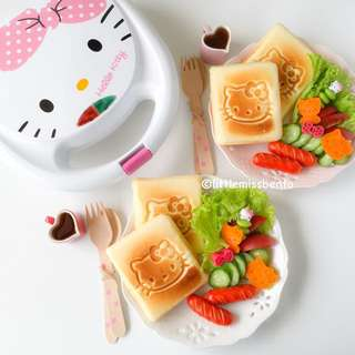 BNIB Cornell Hello Kitty Sandwich Maker