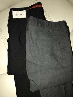 Long tight pants