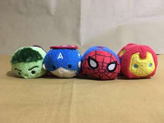 Marvel Tsum Tsum Plush Avengers (3.5 inches)