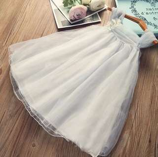 Girls soft gauze dress
