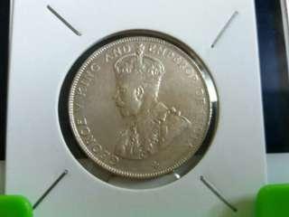 KGV 1920, 50cent.