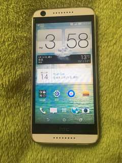 HTC desire 626 白 16g 送保護套 附盒 工能正常