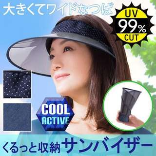 日本🇯🇵2018 春夏☀最新款人氣Cool Max 防UV 帽 (可捲起❗方便收藏❗)