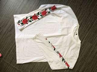 White Rose Long Sleeve