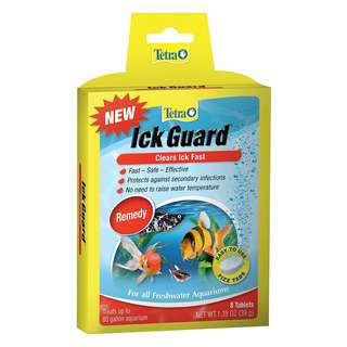 [IN-STOCKS] Tetra Ick Guard Aquarium Remedy, Easy to Use Fizz Tabs, 8-Count