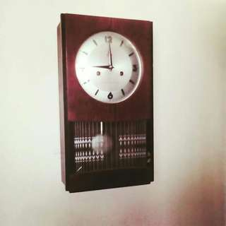 ANTIKS WALL CLOCK & TANDUK RUSA