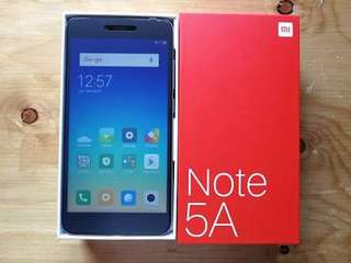 Xiaomi Note 5A 64Gb Gray Kredit Mudah Tanpa CC Low Dp