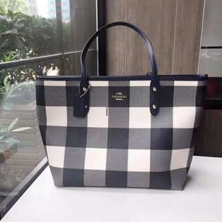 Coach Large Canvas Tote