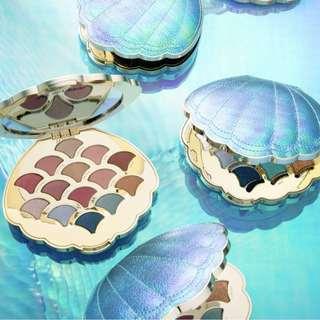 免費代購美國正品Tarte美人魚貝殼幻彩眼影盤