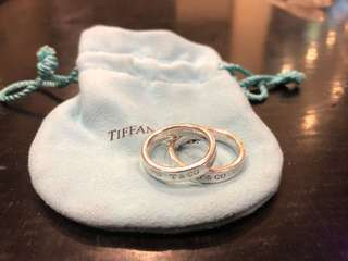 Tiffany and co 1837 ring