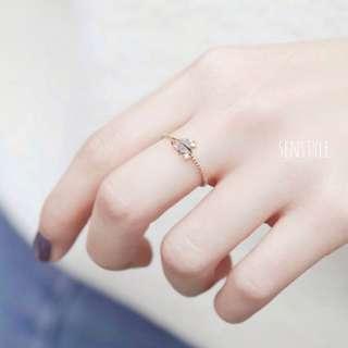 星球鑽指戒戒指