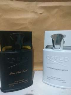 Parfum Creed black & white singapore.