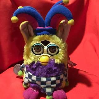 Original 1999 Furby - Limited Exclusive Figure JESTER