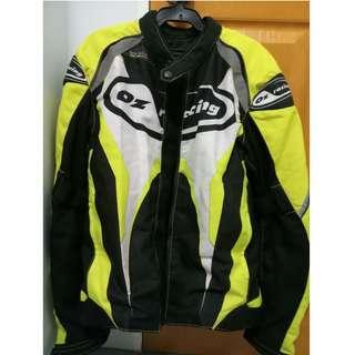 OZ Racing Dizpatch Padded Motorcycle Jacket