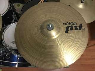 Paiste PST3 Crash Cymbals