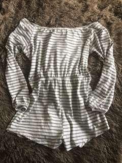 Sabo Skirt Playsuit Small
