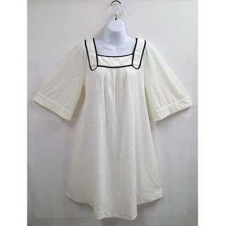 Feravani舒適質感典雅氣質設計款綁帶洋裝/孕婦裝全新含吊牌原價5390元女性42/XL號孕產業界的領導品牌專櫃品牌