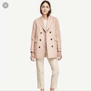 Blush Coat - Ann Taylor