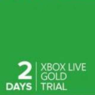 Xbox live gold trial 2 day code