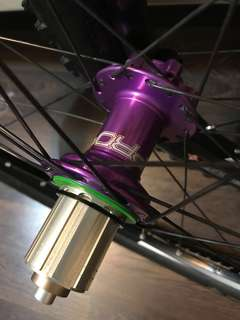 Hope Pro 4 hubs boost