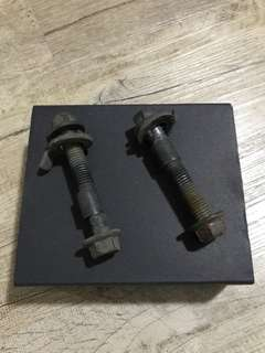 SPC camber bolts for zc31s Suzuki Swift Sport