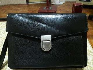 Paco Rabanne Paris Genuine Leather Clutch Bag