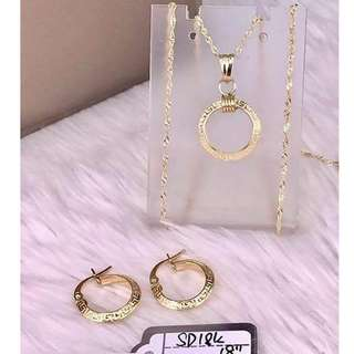 Authentic/pawnable jewelry set