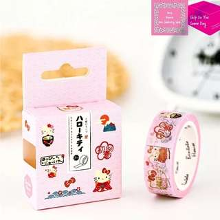 7m Hello Kitty In Japan Washi Tape