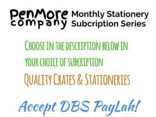 Monthly Stationery Crate Subscription by PenMore (Parafanatic)