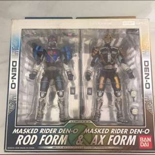 Sic den o rod and axe form