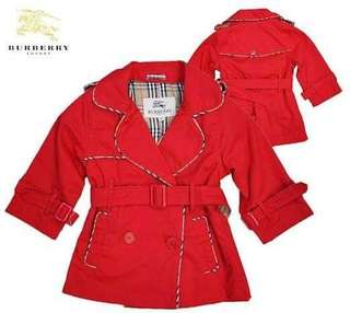 Kids Tranch Coat