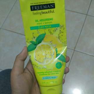 Freeman mint lemon clay mask