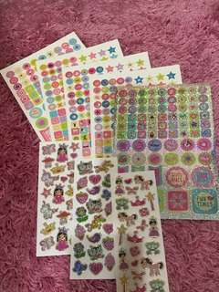 500 Value Pack Stickers (Princess)